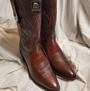d8092a93456 Dan Post Shoes - Dan Post boots 10 M cowboy western brown Mistie